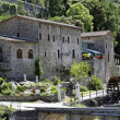 The mill of Corbes in France in the area of the Cevennes — Stock Photo