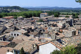 Sommieres village in the French department of Gard — Stock Photo