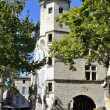 Downtown area of Uzes - Stock Photo