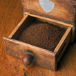Stock Photo: Old coffee mill