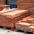 Manufacturing plant of bricks - Stock Photo