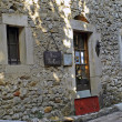 Old French village of the Cevennes - Stock Photo