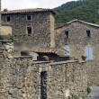 Old village of the Cevennes — Stock Photo