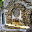 Stock Photo: Fountain of Saint-Jean-of-Gard