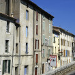 Stock Photo: Anduze, French tourist city of the Cevennes