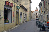 Old French village of Gard, Cardet — Stock Photo