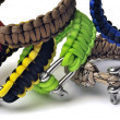 Bracelets of survival - Stock Photo