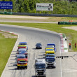 Stock Photo: Grand Prix of France trucks 2013