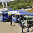 Ales - France - Grand Prix of France trucks May 25th and 26th, 2013 — Stock Photo