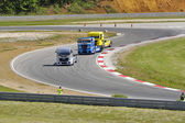 Grand Prix of France trucks 2013 — Stock Photo