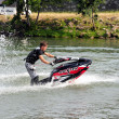 Lifting Jetski — Stock Photo
