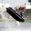 Lifting Jetski — Stockfoto