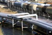 Petroleiro de trens — Foto Stock