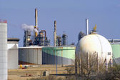 Petrochemical industry in Marseille — Stock Photo
