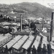 Old postcard, Tulle, overview of the manufacture of weapon — Stock Photo