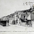 Old postcard, Rochecorbon, Road Tours — Stock Photo #33932359