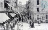 Carte postale ancienne, le Tréport, rue batterie — Photo