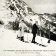 Old postcard summit of Ballon d'Alsace — Stockfoto #37331629