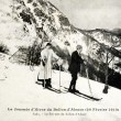 Old postcard summit of Ballon d'Alsace — 图库照片 #37331629