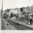 Old postcard of Lisieux, tunnel exit of Grand Garden — 图库照片 #37331667