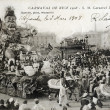 Old postcard Carnival of Nice 1908 — 图库照片 #37333175