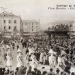 Old postcard Carnival of Nice, parade of Cocottes — Foto Stock #37333223