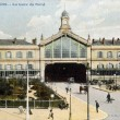 Old postcard of Amiens, North Station — Stock Photo #37594007