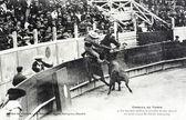旧明信片西班牙种族 — 图库照片