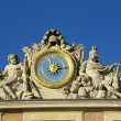 Clock of castle of Versailles — Stock Photo #38422267