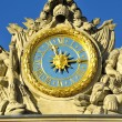 Clock of castle of Versailles — Stock Photo #38422635