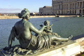 Nymph of the water mirror of the castle of Versailles — ストック写真
