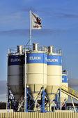 Concrete silos — Stock Photo