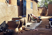 An alley in Bobo-Dioulasso — Stock Photo