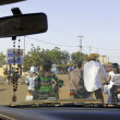 Traffic in Ouagadougou — Foto Stock #40711343