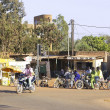 Traffic in Ouagadougou — 图库照片 #40711381