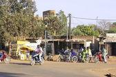 Traffic in Ouagadougou — Stock Photo