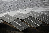 French photovoltaic solar plant — Stock Photo