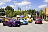 Car tuning exhibition — Stockfoto
