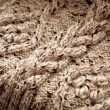 Royalty-Free Stock Photo: Detail of woven handicraft knit sweater