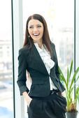 Young successfull business woman — Stock Photo