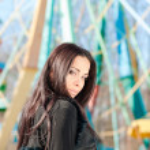 Portrait d'une jeune femme calme — Photo #22694011