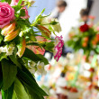 Wedding banquet decorations — Stok fotoğraf