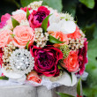 Wedding bouquet closeup — Stock Photo