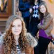 Stock Photo: Teen girls