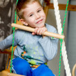 Happy little preschooler boy — Stock Photo
