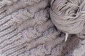 Knitting details — Stock Photo