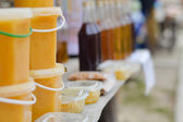 Honey market — Stockfoto