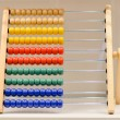 Stock Photo: Abacus or accounts fig colorful