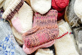 Knitted socks — Stock Photo