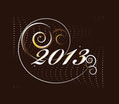 2013 new year card — Stock Vector